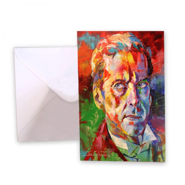 Dr Who 12 Peter Capaldi Greeting Card
