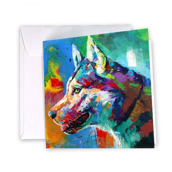 Greeting-Card-Husky/Malamute-212